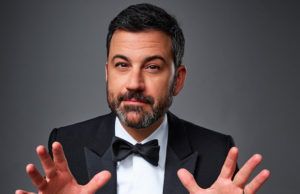 """THE 68TH EMMY(r) AWARDS - Jimmy Kimmel (host of the """"64th Emmy Awards"""" in 2012) will return to host this year's star-studded event, live from Microsoft Theater in Los Angeles on SUNDAY, SEPTEMBER 18 (7:00-11:00 p.m. EDT/4:00-8:00 p.m. PDT), on the ABC Television Network. (ABC/Jeff Lipsky)"""