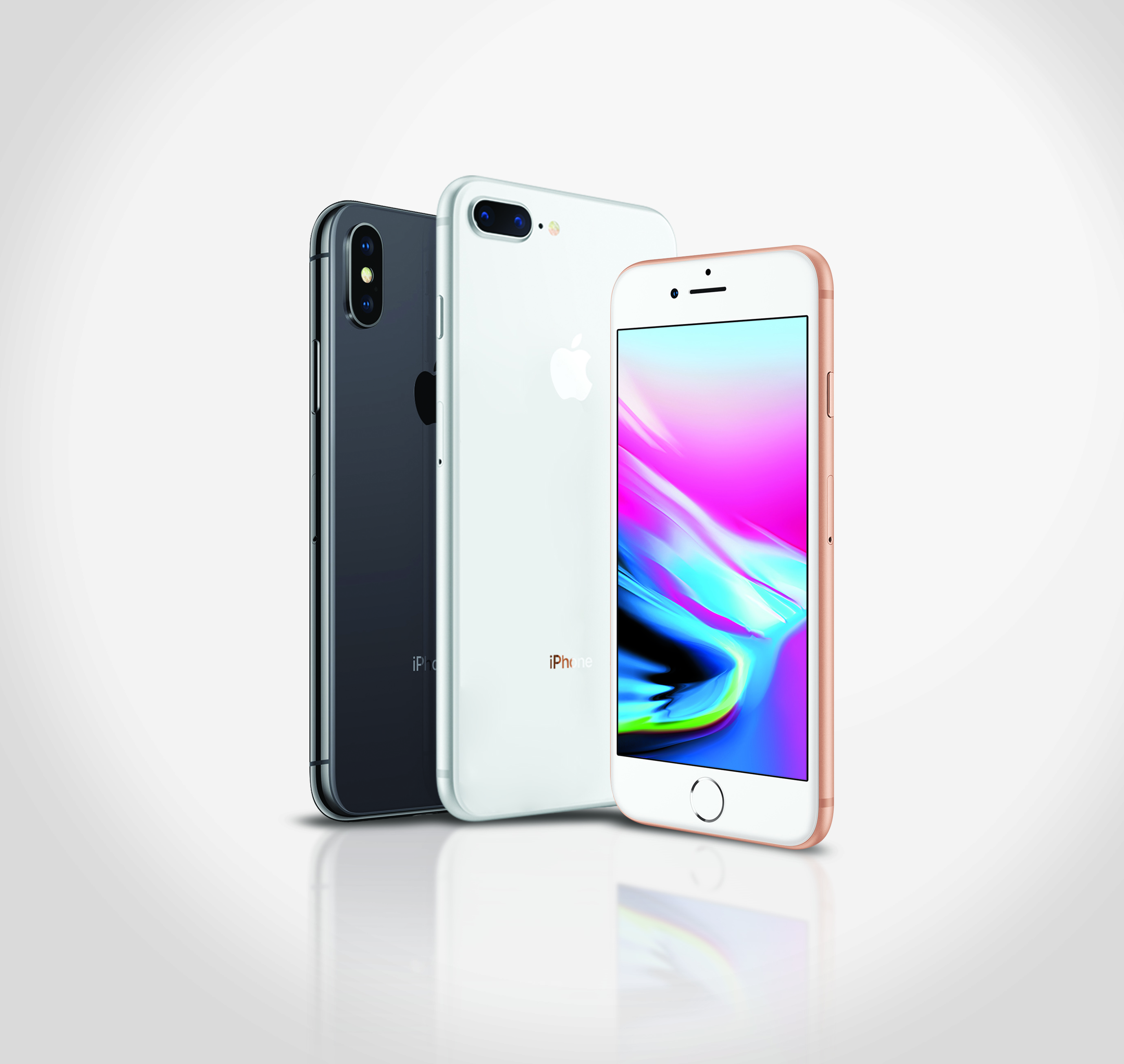 IPHONE 8, IPHONE PLUS Y IPHONE X DISPONIBLE EN TODAS LAS